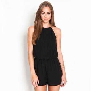 Sexy Backless Romper