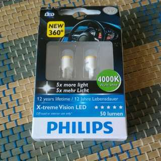 Philips X-treme Vision LED T10