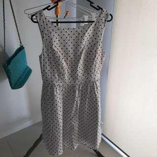 Portmans Polka Dot Dress