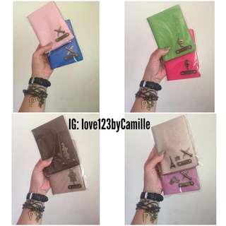 PERSONALIZED PASSPORT COVER/PASSPORT HOLDER