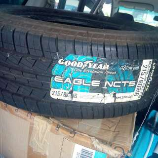 goodyear eagle nct5 215/60r16