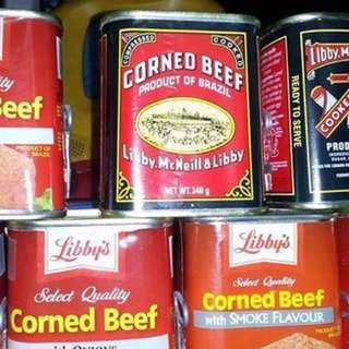 Libby's Corned Beef And Palm Gold Corned Beef