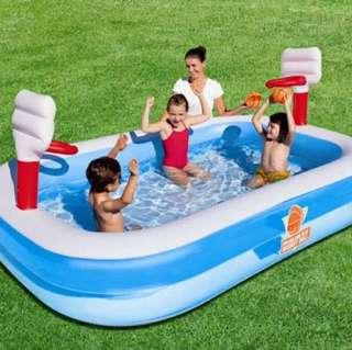 Inflatable Basketball Pool