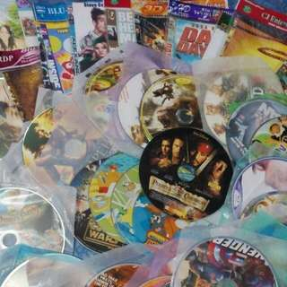 36pcs New Combination Of Orig And Pirated CDs