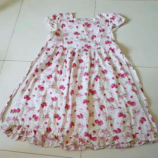 Sweet Strawberry Girl Dress (Clearance Sale)