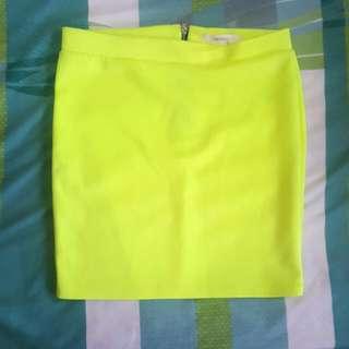 Forever 21 Neoprene Skirt