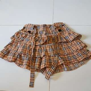 Checkered Girl Shorts (Clearance Sale)