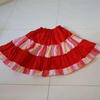 Sweet Rainbow Girl Skirt (Clearance Sale)