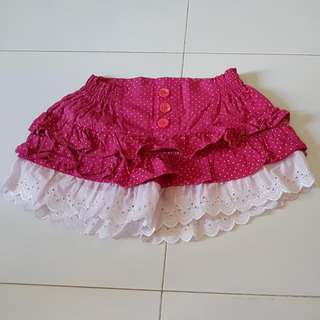 Sweet Pinky Lace Shorts (Clearance Sale)