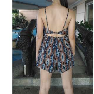 Sexy Romper with back details Spicy Sugar