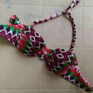 Ilovekoi Tribal Bikini Top