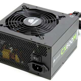 Corsair CX600m power supply (modular)