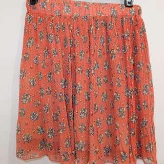 Bayo Orange Skirt