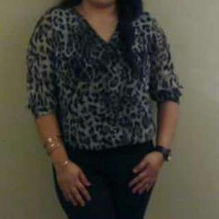 CANDY Leopard Top
