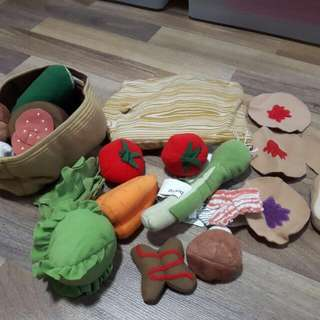 Ikea food soft toy