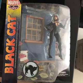 Marvel Select Black Cat Special Edition Spiderman Spider-Man