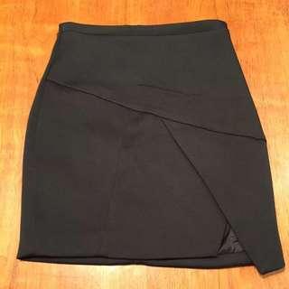 Kookaï Black Mini Skirt Size 40