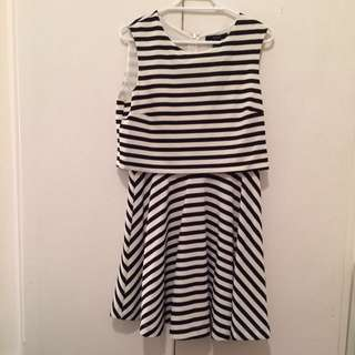 Forever 21 Striped Dress Brand New