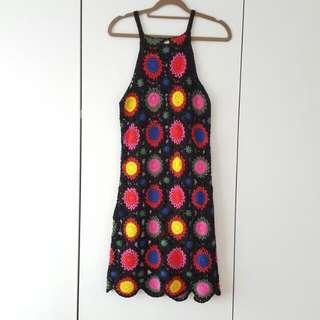 H&M Coachella Collection Crochet Dress