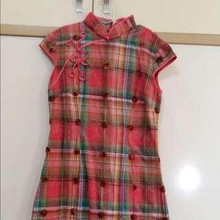 Pink Square Dress