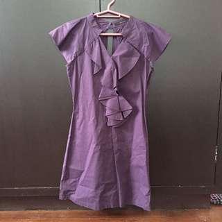 Pre-loved Kisses & Co. Purple Dress
