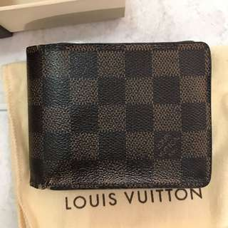 LV men Wallet With Box Authentic