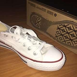 Brand New White Chucks