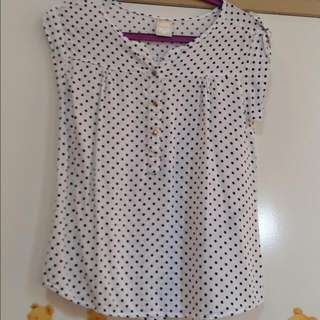 Polkadot Mineola Shirt