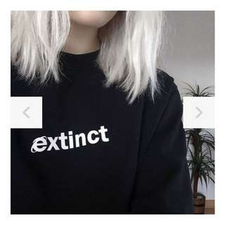 'Extinct' Sweater
