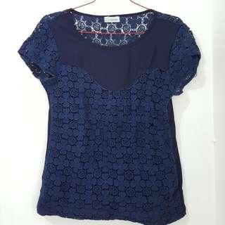 Ofish Blue Shirt