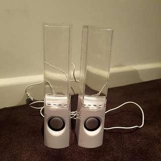 Waterflow Lighting Speaker (White)