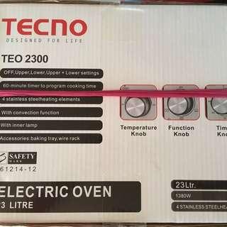 Brand New Tecno Oven