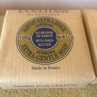L' Occitane En Provence Verbena Extra Gentle Soap With Shea Butter 100g (3.5 Oz)