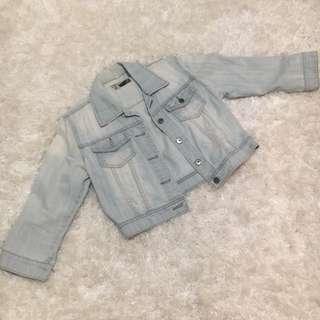 Postage Incl - Cropped Denim Jacket