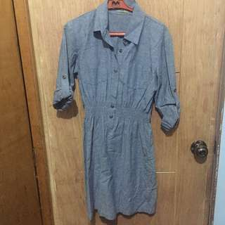 Pre-loved Unica Hija Denim Dress (size small)