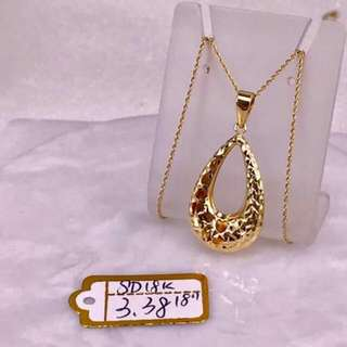 18k Saudi Gold Necklace And Pendants... Guaranteed Pawnable/nasasangla... 100%legit Seller
