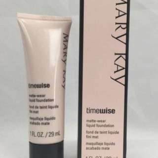 Mary Kay Matte Foundation