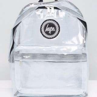Hype透明後背包