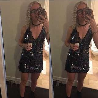Motel Princess Polly Sequin Dress