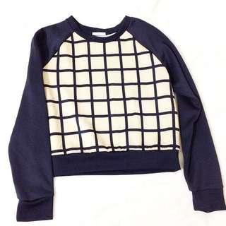 日本GU購入 格紋上衣