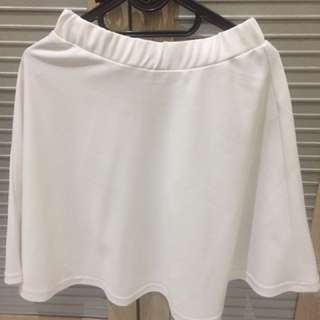 Flare Skirt Rok Putih / White
