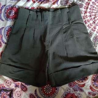 Grey Dress Shorts Size 10