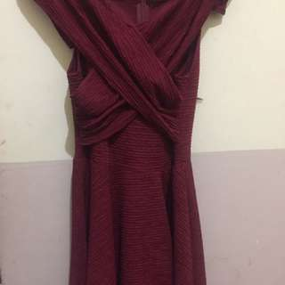 Dress Merah / Red Dress Gaun