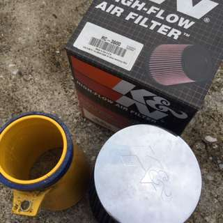 Original K&N Air Filter Universal