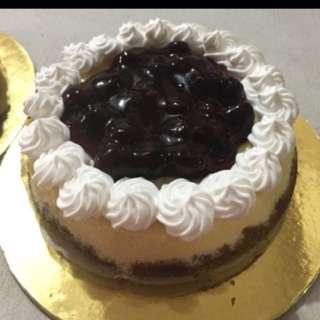 Blueberry Cheesecake Cake