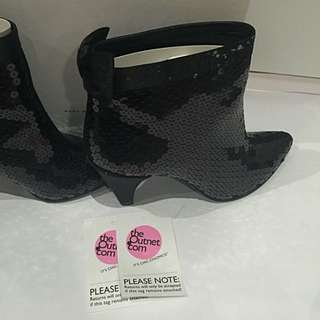 Marc By Marc Jacobs Sequined Ankle Boots (Size 38.5)