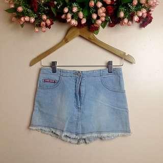 1Denim Skirt