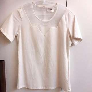 ✨白色棉T