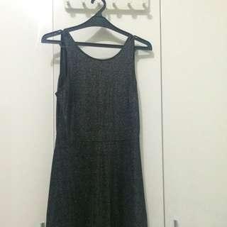 Black Dress HnM With Sparkle