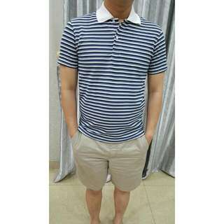 Uniqlo Stripy Polo